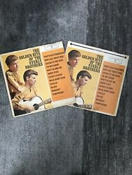 (2) The Golden Hits Of The Everly Brothers (Vinyl LP Records 1962) Mono Stereo $9.99