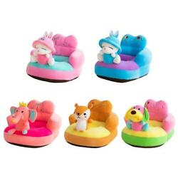 Baby Seats Sofa Cover Seat Support Cute Feeding Chair No PP Cotton Filler S1 $14.54