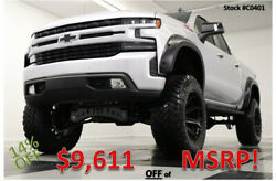 2020 Chevrolet Silverado 1500 4X4 Lifted Sunroof Leather Silver Ice Crew Cab 4WD New Heated Black Seats 9 In Full Throttle Lift Camera 22 Inch Fuel Rims 19 2019 $58,999.00