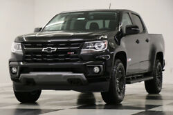 2021 Chevrolet Colorado MSRP$44760 4X4 Z71 Midnight Edition Black Crew 4WD New Heated Leather Seats Camera Blacked Out Cab Bluetooth 19 20 2020 21 Mylink $41,959.00
