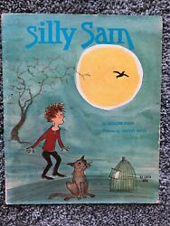 Vtg Scholastic Silly Sam Book Klein 1st Printing Birthday Present Laugh Read HTF $39.99
