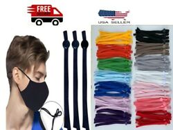 DIY Mask Sewing Elastic Band with Adjustable Buckle For Face Mask 15 COLORS $7.80