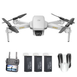 S161 Mini Pro Drone with Dual Camera 4K Optical-Flow Camera Foldable Drone T0Y4 $55.97