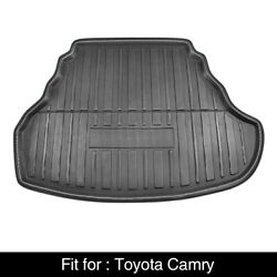 Black Rear Trunk Boot Liner Cargo Mat Floor Tray for Toyota Camry 12 17 $32.99