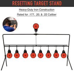 Auto Reset Shooting Targets w Portable Design Rated for.177 .20 .22 Caliber $17.48