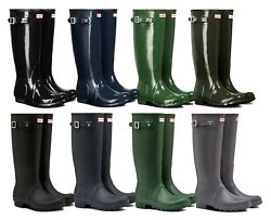 Hunter Womens Original Tall Boots Rubber Various Size Color $75.00