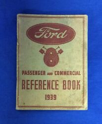 Ford Passenger and Commercial Reference Book 1939 Paperback 39 Ford FoMoCo $18.95