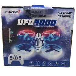 Drone Force1 UFO 4000 LED Drones for Ages 14 Small RC Drones 2 speed LED Stunt $27.59