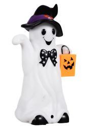 New Motion Activated LED with Sound Halloween 5.75quot; Ghost $5.99