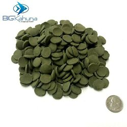 SPIRULINA ALGAE WAFERS DISC TROPICAL FISH FOOD SINKING SMALL APX 1 2quot; $19.95