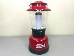Coleman LED Classic Lantern 400 Lumen Red Used Good Condition $27.99