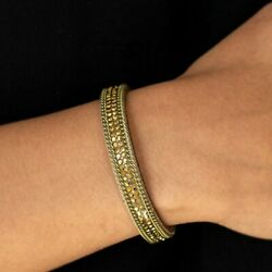 Babe Bling Brass Wrap Urban Bracelet Paparazzi Jewelry Accessories $5.00
