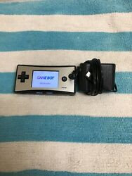 Nintendo Gameboy Micro Handheld System w Charger & New Battery OXY-007 Tested! $149.95