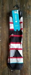 Stance Boys Ankle Biters Socks One Pair Geometric Size L XL 6Y 8.5Y NEW $9.95
