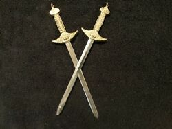 Two 11 1 4quot; Daggers Metal Wall Decorations $17.75