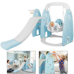 Kids Swing Slide Climber 3 in 1 Kit Playroom Backyard Playset Toddler Toy $149.99
