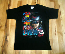 Dale Earnhardt Vintage In A League Of His Own 2 Sided Graphic Shirt Mens Large $23.74