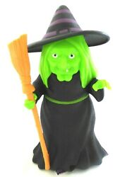 New Motion Activated LED with Sound Halloween 5.75quot; Witch $5.99