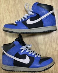 Nike Dunk High Size 10 317892 001 Varsity Blue $150.00