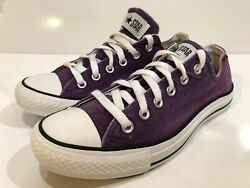 Converse All Star Low Top Canvas Tennis Women#x27;s Shoes Size 9 $34.99