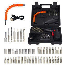 48 in 1 Rechargeable Wireless Cordless Electric Screwdriver Drill Set Power Tool $23.98
