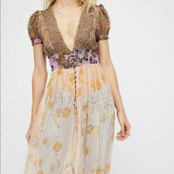 Free People Daisy Fields Maxi Women#x27;s Top $54.00