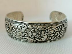 Rare Ancient Antique Viking Silvered Bracelet Amazing Artifact Authentic $185.99