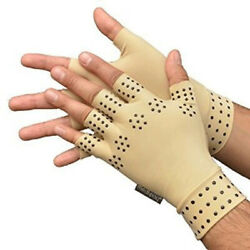 Therapy Arthritis Fingerless For Rheumatoid Gloves Magnetic Anti Compression $5.07