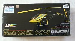 Align Helicopter Kit Trex 450XL CCPM 3D High Pro new vintage never assembled $299.95