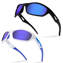 UV Sunglasses Outdoor Sports Surfing Fishing Vintage Shades with Box amp; Bag $16.19