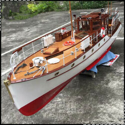 Bluebird of Chelsea Yacht Scale 1 18 880 mm 34.6quot; RC Wood Model Ship kit $880.00
