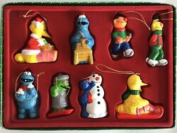 Vintage Collectibles Sesame Street Christmas Ornaments Muppet Characters $39.99