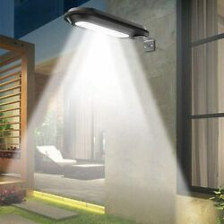 Outdoor Commercial 18 LED Solar Street Light IP65 Waterproof Dawn Wall Lamp