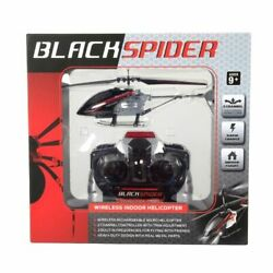 BLACK SPIDER TACTICAL WIRELESS INDOOR MICRO HELICOPTER REMOTE CONTROLLER 850816 $19.99