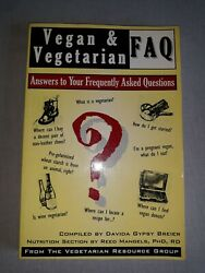 Vegan and Vegetarian FAQ : Answers to Your Frequently Asked Questions by Reed M… $4.00