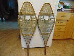indian antique snowshoes nice 14 x 42 nice # 2032 $99.99