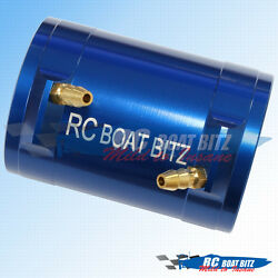 RC Boat Traxxas Spartan M41 36mm upgrade motor cooling jacket Blue AU $31.75