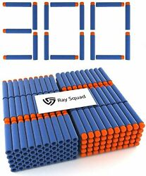 300 Pack Nerf Compatible Foam Toy Darts by Ray Squad Premium Refill Bullets... $13.74