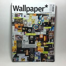 Wallpaper Magazine May 2019 Limited Edition cover by Olafur Eliasson $24.99