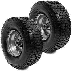 2PK 13x5.00 6 Turf Tires amp; Rim Assembly Fits Lawn amp; Garden Tractors Golf Carts $29.99