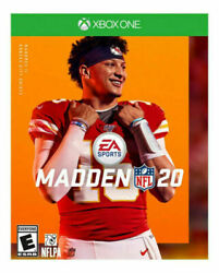 Madden NFL 20 Standard Edition USED SEALED Microsoft Xbox One 2019 $13.59
