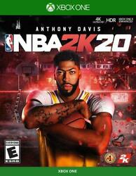 NBA 2K20 USED SEALED Microsoft Xbox One 2019 $12.79