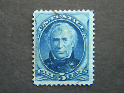 US Stamp #185 Used..............*** Light crease ***.................See Details