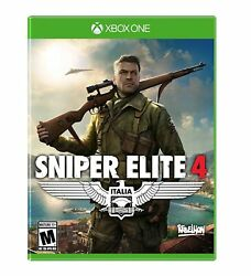 Sniper Elite 4 Xbox One NEW FREE US SHIPPING $24.99