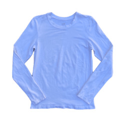 Champion C9 Women#x27;s All Season Fitted White Long Sleeve Exercise Shirt Large $9.00