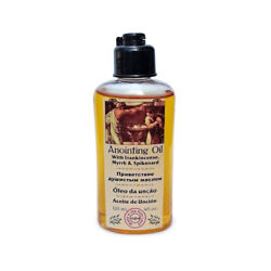 Certified Holy Frankincense Myrrh and Spikenard 120ml Anointing Oil from Israel $11.98