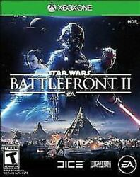 Star Wars: Battlefront II 2 USED SEALED Microsoft Xbox One 2017 $12.95