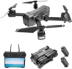 KF607 WiFi FPV RC Drone with 4K HD Camera Foldable Drone Optical Flow Positionin $59.99