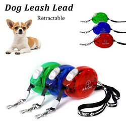 2.5M Pet Dog Retractable Lead Extending Small Dog Puppy Walking Leash Chihuahua $8.64