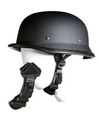 German Novelty Flat Black Helmet With Q Release $29.50